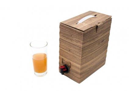 Jablečný mošt - pasterovaný - objednání pouze pro doručení naší dopravou